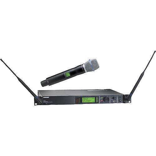 Shure UR24S/BETA87A Handheld Wireless Microphone System-thumbnail
