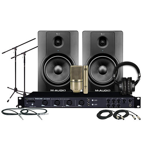 Tascam US-1200 BX8 MXL Package