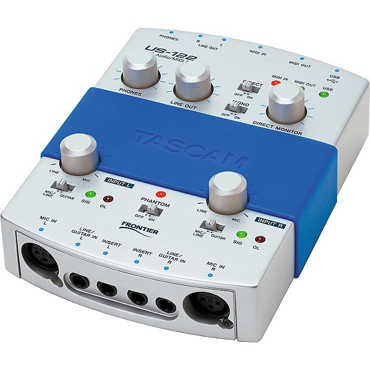 TASCAMUS-122 USB Audio/MIDI Interface
