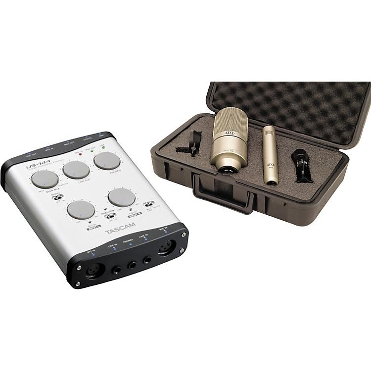 TASCAMUS-144 Interface & MXL 990/991 Mic Bundle