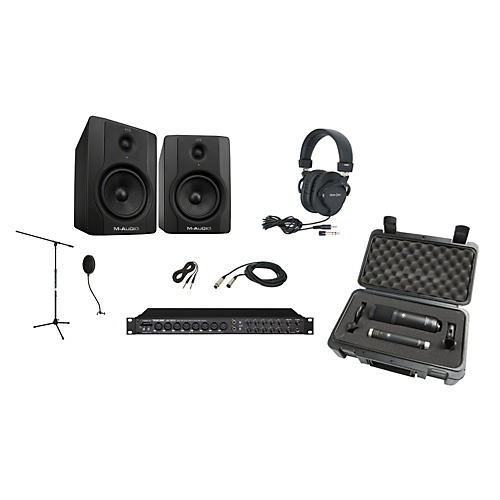 TASCAM US-1800 Complete Desktop Recording Bundle
