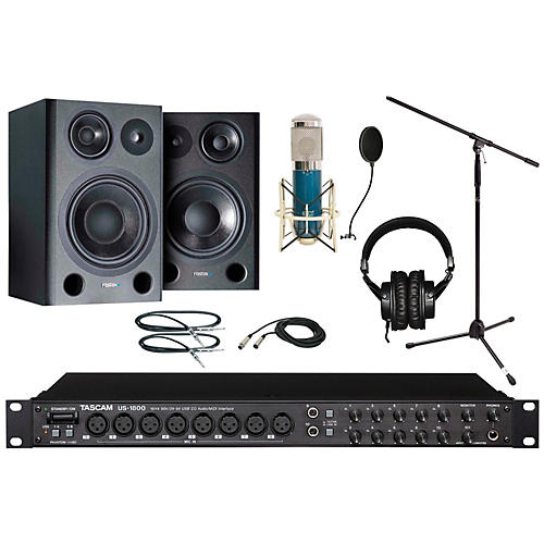 Tascam US-1800 MXL 4000 Recording Package-thumbnail