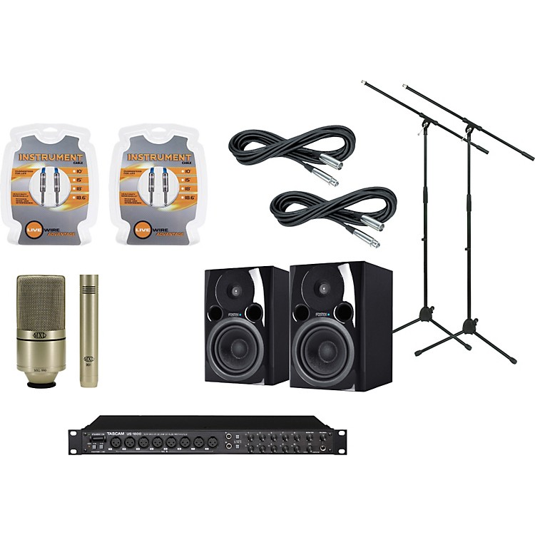 TASCAM US-1800 Recording Package