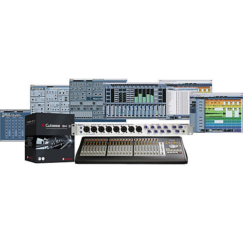 Tascam US-2400 FIREPOD Cubase SX LTO Computer Recording and Mixing Bundle