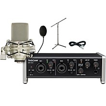 Tascam US-2x2 Pop Filter Package