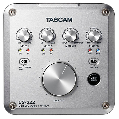 TASCAM US-322 2x2 USB Audio Interface