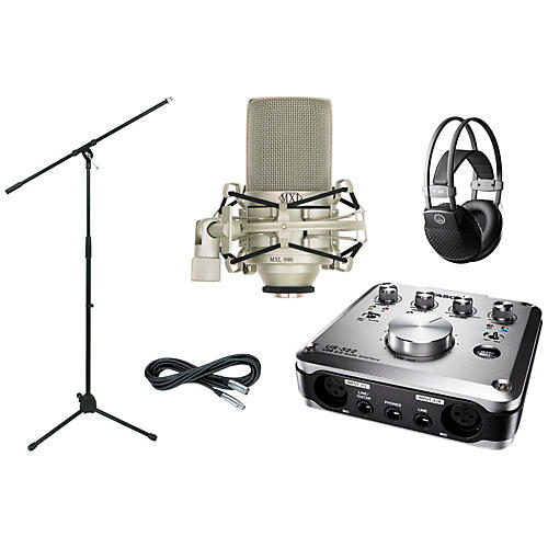 Tascam US-322 Recording Package