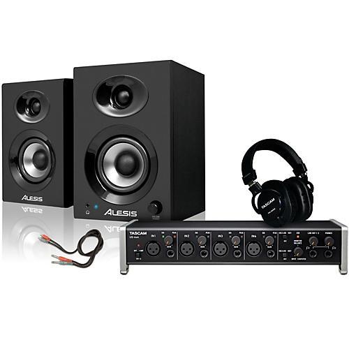 Tascam US-4x4 TH-200X Headphone Package-thumbnail