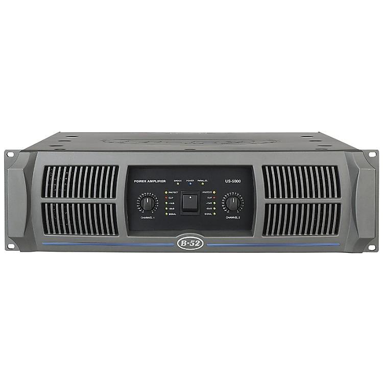 B-52US-5000 2-Channel 900W Power Amplifier