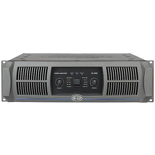 B-52 US-6000 2-Channel 1150W Power Amplifier-thumbnail