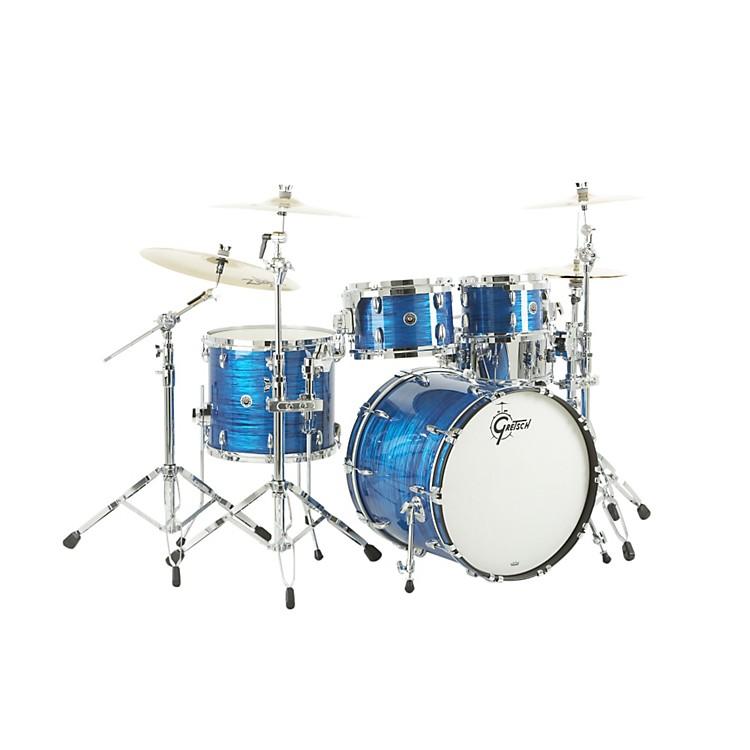 Gretsch DrumsUSA Brooklyn Series 4-Piece Shell PackRoyal Blue Oyster