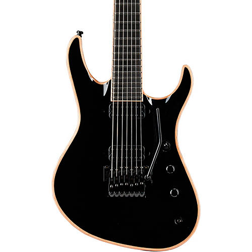 Jackson USA Chris Broderick Soloist 7-String Electric Guitar Black Ebony Fingerboard