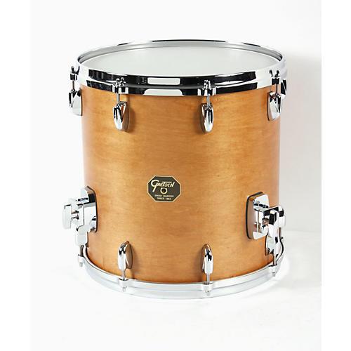 Gretsch Drums USA Custom Floor Tom Drum Satin Classic Maple 14x14