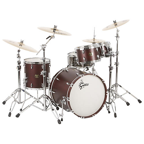 Gretsch Drums USA Custom Quick Delivery 4-Piece Euro Drum Shell Pack-thumbnail