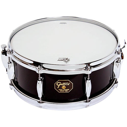 Gretsch Drums USA Custom Snare Drum Gloss Piano Black 5.5x14