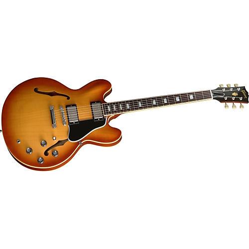 Gibson USA ES-335 Plain Top Electric Guitar w/ '64 Block Neck