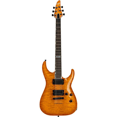 ESP USA Horizon Electric Guitar Amber Sunburst