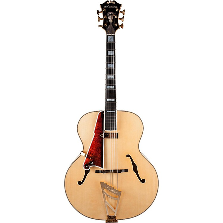 D'AngelicoUSA Masterbuilt 1942 Hollowbody Electric GuitarNatural