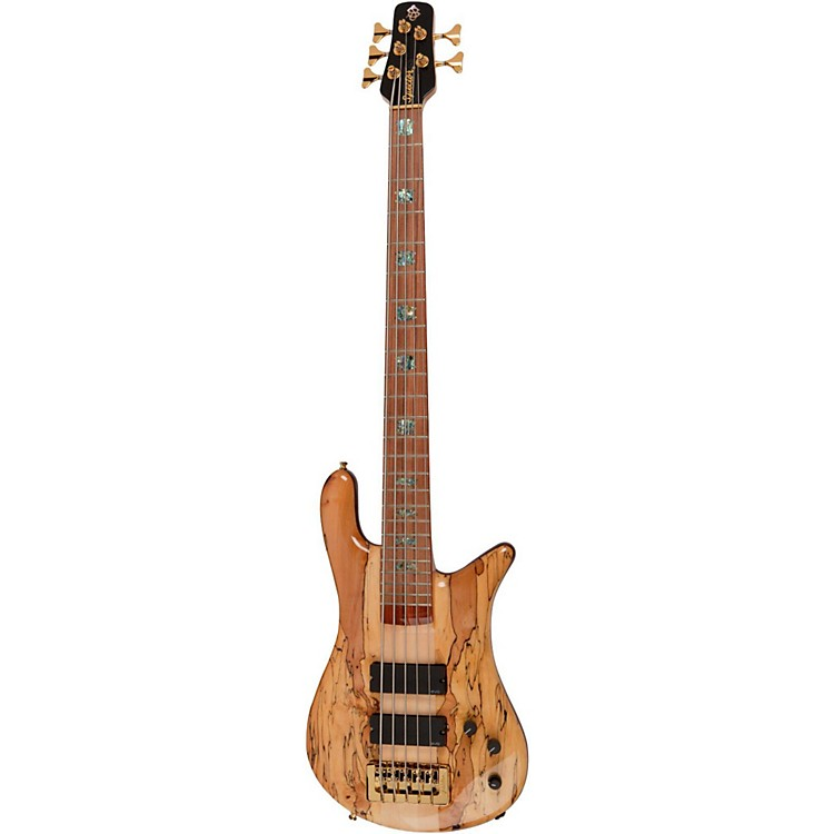 Spector USA NS-5XL Exotic Limited Edition 5-String Bass Spalted Maple