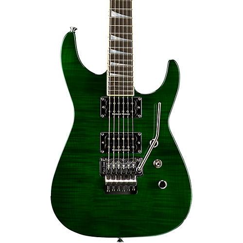 Jackson USA Select SL2H Soloist Electric Guitar Transparent Green