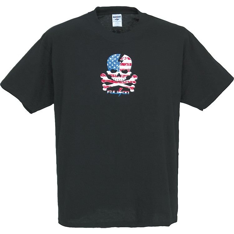 Gear One USA Skull T-Shirt Black Extra Large