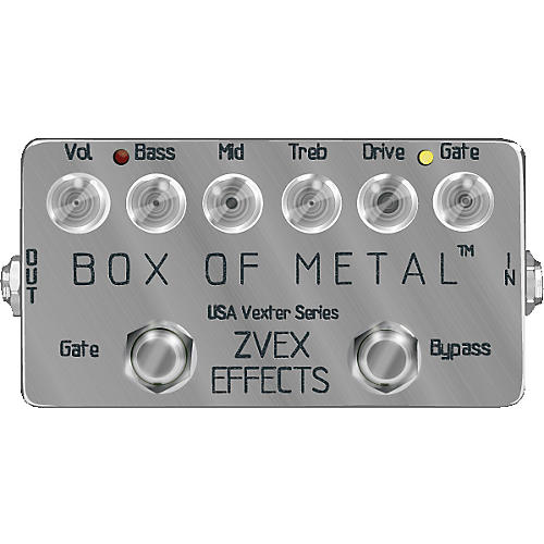 ZVex USA Vexter Box of Metal Distortion Guitar Effects Pedal