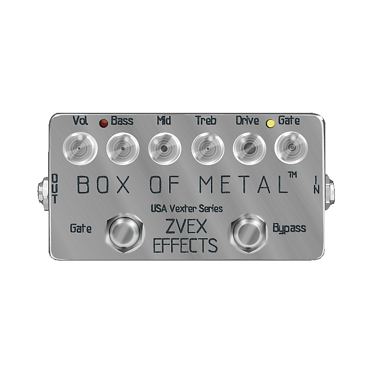 zvex usa vexter box of metal distortion guitar effects pedal musician 39 s friend. Black Bedroom Furniture Sets. Home Design Ideas