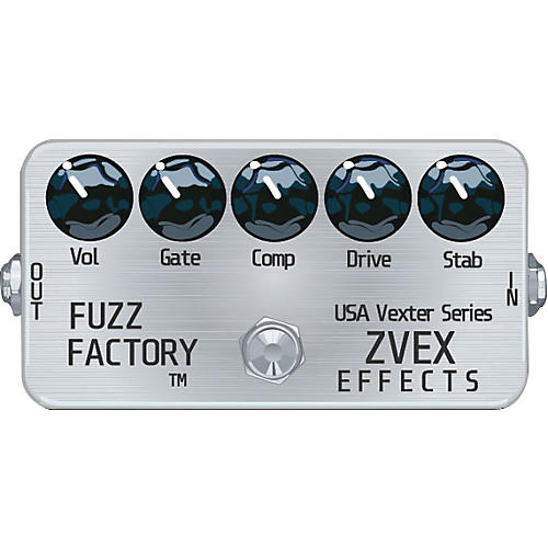 ZVex USA Vexter Fuzz Factory Guitar Effect Pedal