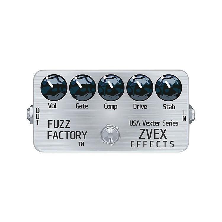 ZVexUSA Vexter Fuzz Factory Guitar Effects Pedal