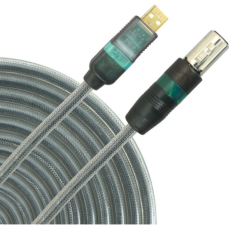 LightSnake USB Microphone cable Black