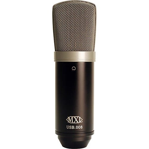 MXL USB.008 Large Gold Diaphragm USB Condenser Microphone
