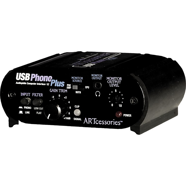 ART USBPhonoPlus v2 Computer Audio Interface