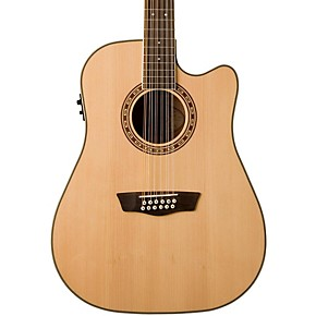 washburn usm wd10sce12 cutaway 12 string acoustic electric guitar musician 39 s friend. Black Bedroom Furniture Sets. Home Design Ideas