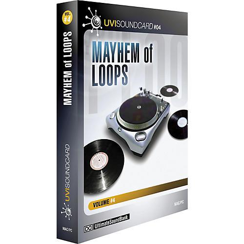 Ultimate Sound Bank UVI Soundcard Volume 4 - Mayhem Of Loops