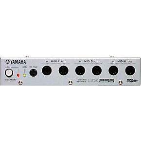 yamaha ux256 usb midi interface musician 39 s friend