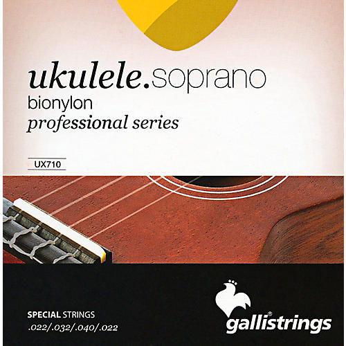 Galli Strings UX710 BIONYLON Soprano UKULELE Strings