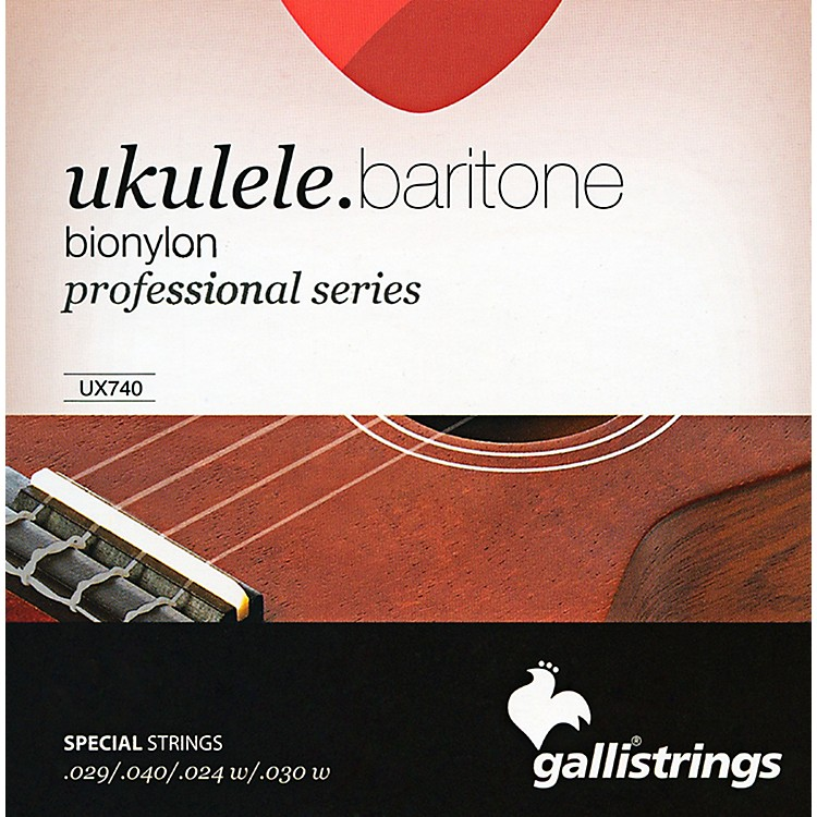 Galli Strings UX740 BIONYLON Baritone UKULELE Strings