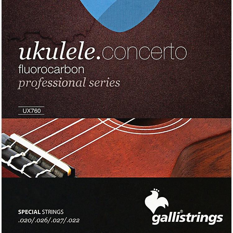 Galli StringsUX760 FLUOROCARBON Concerto UKULELE Strings