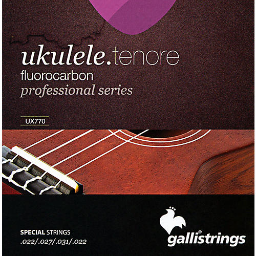 Galli Strings UX770 FLUOROCARBON Tenor UKULELE Strings