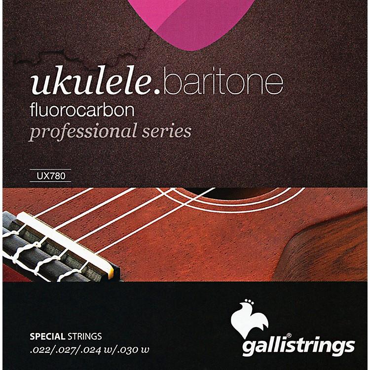 Galli StringsUX780 FLUOROCARBON Baritone UKULELE Strings