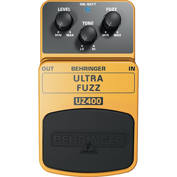Behringer UZ400 Ultra Fuzz Distortion Effects Pedal