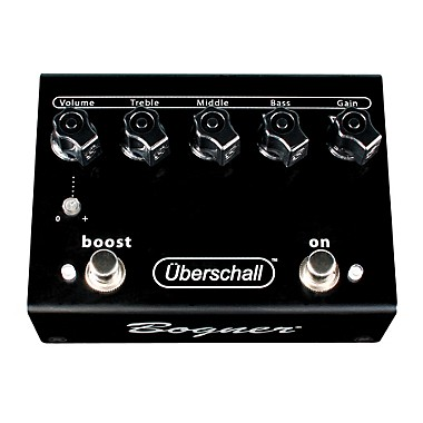 Uberschall Distortion/Boost Guitar Effects Pedal