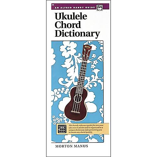 Alfred Ukulele Chord Dictionary-thumbnail