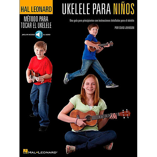 Hal Leonard Ukulele For Kids (Spanish Edition) Hal Leonard Ukulele Method Series Book/Online Audio