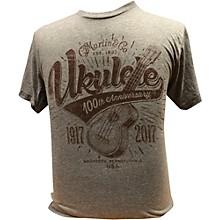 Martin Ukulele for Centennial Celebration - Gray T-Shirt XXX Large