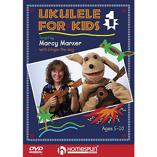Homespun Ukulele for Kids - Lesson 1 (DVD)