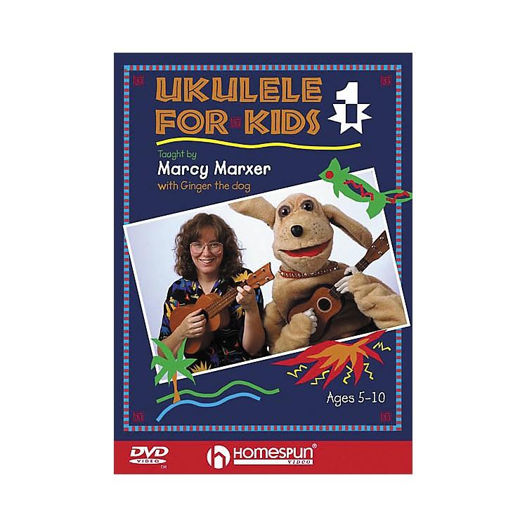 HomespunUkulele for Kids - Lesson 1 (DVD)