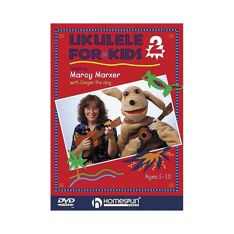 HomespunUkulele for Kids - Lesson 2 (DVD)
