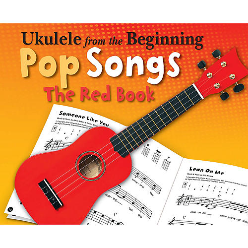 Music Sales Ukulele from the Beginning - Pop Songs (The Red Book) Ukulele Series Softcover-thumbnail