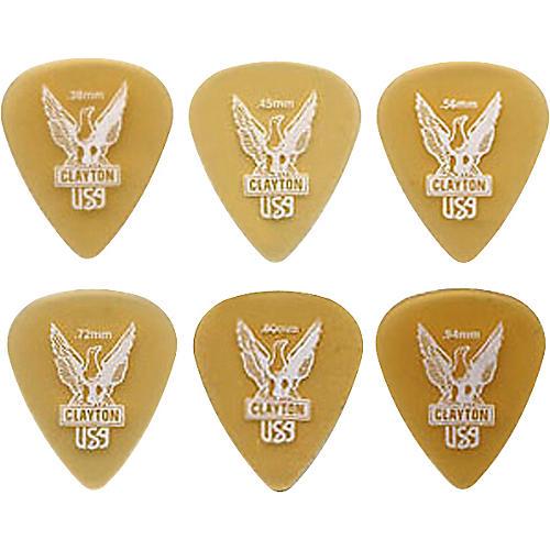 Clayton Ultem Standard Guitar Picks .45 mm 1 Dozen